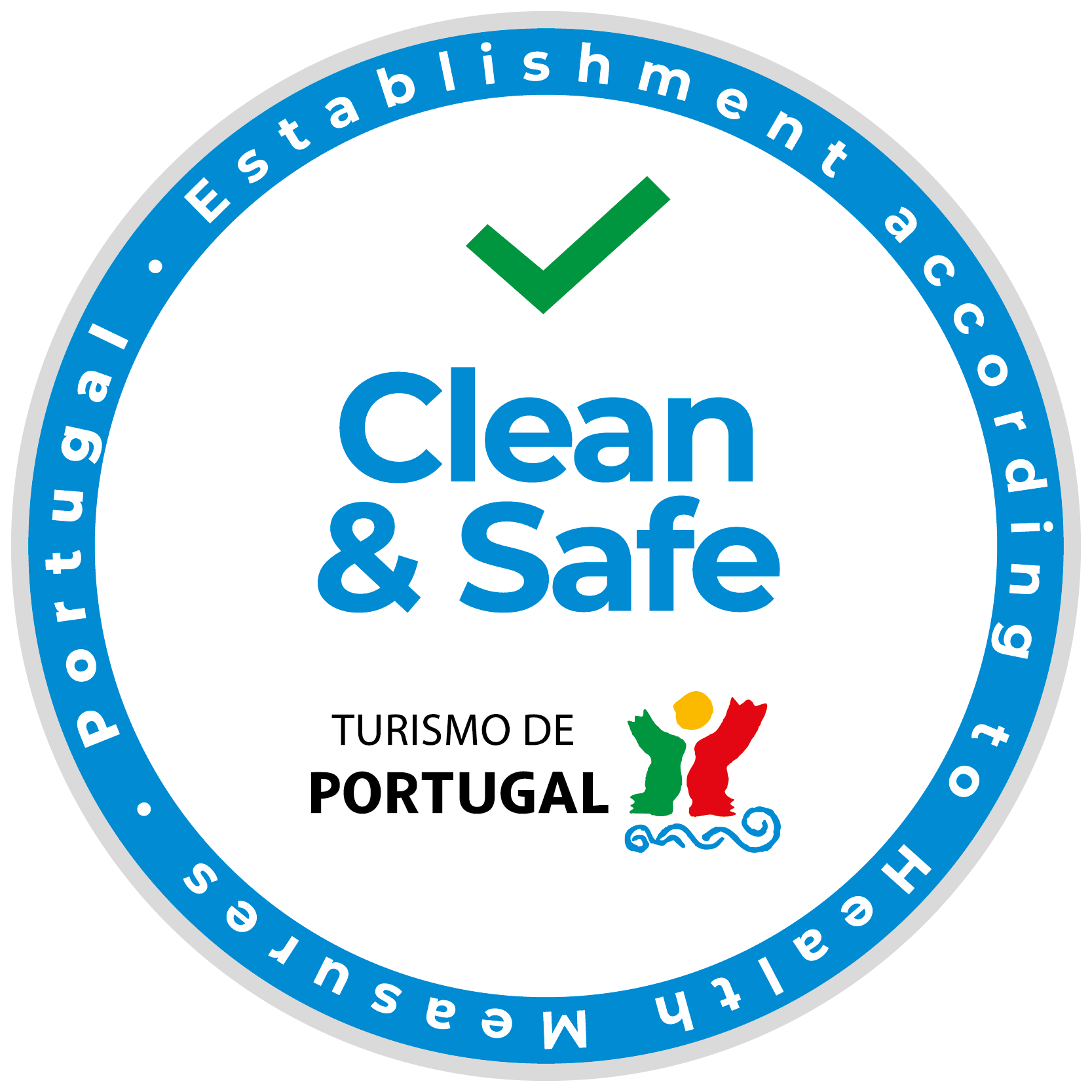 clean safe badge